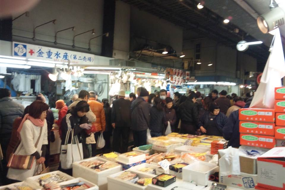 歳末の川崎北部市場